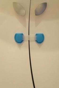 Trumpi plastmasiniai dirzeliai spalvoti 0,65 eu