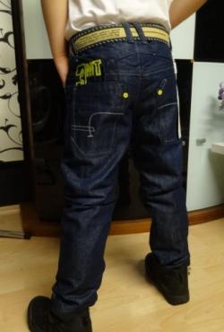 Pasiltinti (su pukeliu vidinėje pusėje) džinsiukai berniukui , SIUNCIU arba privezu