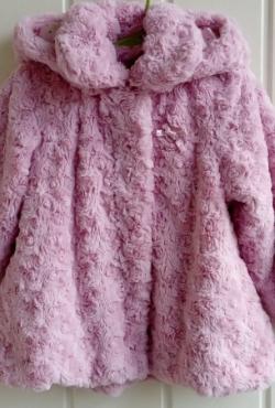 Minkstas rozinis paltukas
