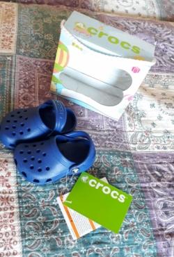 Crocs mėlyni