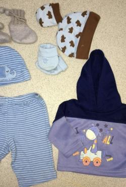 7 dalių komplektukas berniukui iki 3 mėn