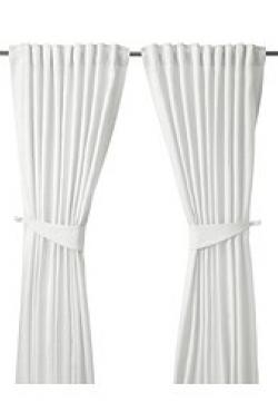 Užuolaidos baltos provanso stil.