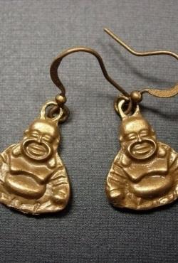 "Auskarai ""Buda"""
