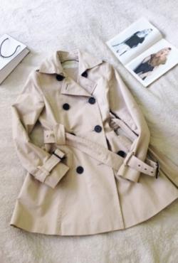 Zara smėlinis paltukas