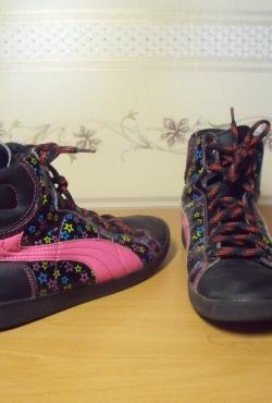 Juodi demisezoniniai batai mergaitei