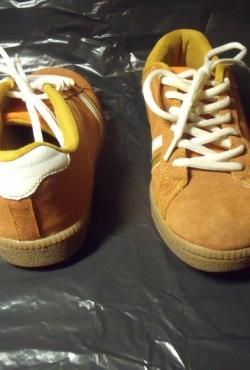 Rudi rudeniniai batai / kedai
