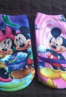 4 poros kojinaičių su peliukais