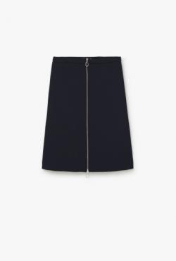 Pieštuko formos sijonas su užtrauktuku