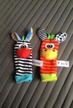 Sozzy kojinytės barškučiai