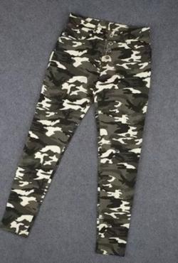 Stilingos kareiviškos kelnės