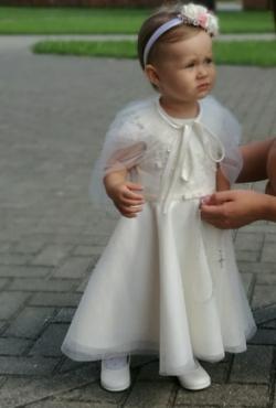 """""""Grafkė"""" krikšto suknelė mergaitei 80-86 dydis"""