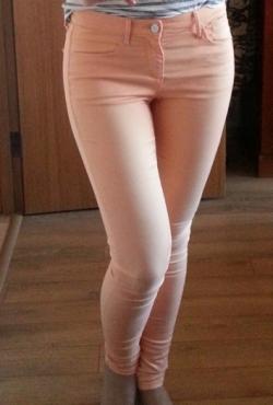 Kreminės spalvos CROSS džinsai