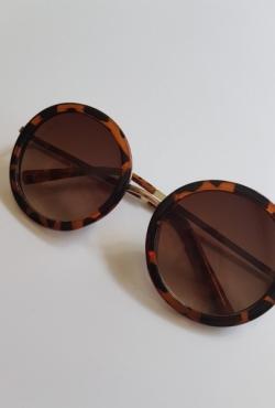 Apvalūs Aldo akiniai nuo saulės.