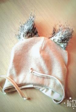 Kepurė su kailinemis ausytėmis