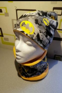 Kepurė ir movas Batman