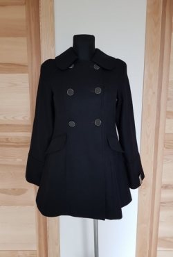 Naujas Atmosphere vilnonis paltas