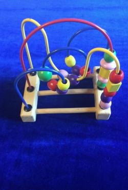 Lavinamasis kūdikių žaislas EDUCO+4 medinukai