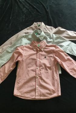 Berniukui nauji marškinėliai United colors of Benetton 3 vnt. 116 cm