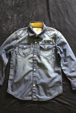 Nauji stilingi trinti džinsiniai marškinėliai Tucker Tate, 4 metai