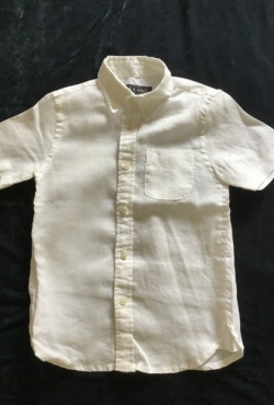 Nauji E.Land medvilniniai balti marškinėliai, 5 metai