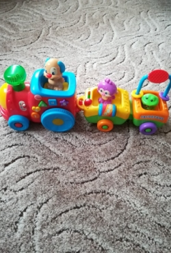 Fisher Price traukinukas