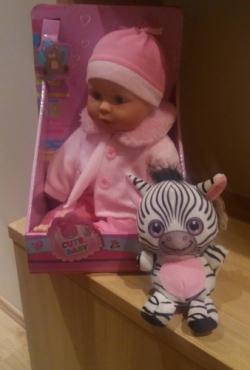 Lėlė + dovanų žaisliukas